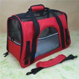 El animal doméstico aprobado línea aérea lleva/bolso con la base del paño grueso y suave para el perro y el gato