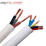 Cable y alambre eléctricos de cobre del edificio del PVC Coverd de la base