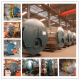 Caldaie a vapore a gas orizzontali di serie 0.5ton 1ton 2ton di Wns