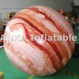 Планета Юпитер воздушного шара PVC раздувная гигантская для случаев