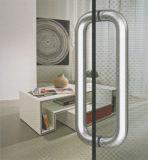 高品質のステンレス鋼のガラスドアの引きのハンドル(01-101)