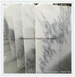 Сляб Onxy китайского нового классицистического белого нефрита мраморный для плитки Countertop или стены