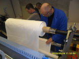 Gewebe-lederne Schwamm-Beschichtung-lamellierende Maschine (JYT-H)