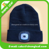 Alta calidad de moda 100% acrílica de punto LED Sombrero (SLF-LH001)