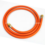세륨 Certified 8mm Orange Braided Rubber Gas Hose