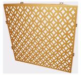 Panneau en aluminium perforé de configuration spéciale pour la décoration de mur