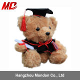 Design et Size multiples Available Graduation Teddy Bear Toys avec Graduation Hat et Diploma Paper