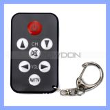 Universal portable TV Infrared Remote Controller con Keychain