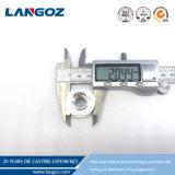 Hersteller-Aluminiummetallpermanente Form-Hochdruckgußteil-Gießerei