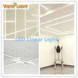 Luz linear alta de la eficacia LED con el amortiguación del programa piloto 5000k 25W 3100lm