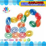 Bouwstenen van het Toestel van het Stuk speelgoed van de Desktop van kinderen de Plastic