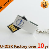 Hot USB Mini giratoria de metal palillo Flash Drive ( YT- 3204 )