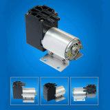 Bomba de vacío del diafragma eléctrico de la C.C. de 11 l/min mini 24V con el motor del cepillo