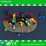 Plastikplättchen-Typ Kind-im Freienspielplatz mit Schwingen