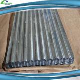 Telhadura galvanizada do metal de folha do material de folha