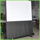 Beweglicher Fußboden-Projektions-Bildschirm mit beweglichem Halter