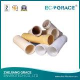 Su ordinazione industriale Nomex (Aramid)/PPS)/P84/vetroresina/PTFE/PE/sacchetto filtro (di Ryton acrilico della polvere