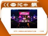 Miete LED-Bildschirmanzeige-Innenpanel des Fabrik-Großverkauf-P6 SMD farbenreiches