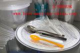 Moulage en plastique de cuillère de couteau d'injection remplaçable de fourche faisant la machine