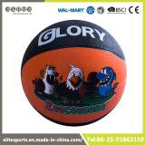 Aduana nunca plana su propio baloncesto de goma