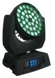 36X18W RGBWA+UV 6in1 세척 급상승 광속 LED 이동하는 맨 위 빛
