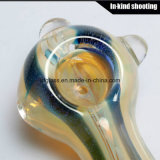 Tubulações da colher que fumam a tubulação de fumo do vidro