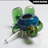Tubos de cristal de cristal coloreados nueva llegada de la cachimba del tazón de fuente de tubo que fuman los tazones de fuente de tubo de cristal tubos coloridos de la mano del tabaco de los mini