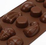Coutume de moulage de chocolat de silicones d'outils de décoration de gâteau de forme de fruit