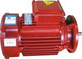 三相非同期モーターYs90s-4-R67-1を収納するYsシリーズアルミ合金