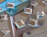 Máquina de cristal que bisela del espejo