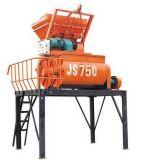 O melhor misturador concreto de venda do eixo Js750 dobro Semi automático elétrico
