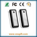 3000mAh banco portátil da potência do ABS das baterias do dobro 18650