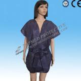 Costumes jetables de sauna, uniformes jetables non-tissés de sauna de pp