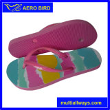 Dame Fancy Pink Sole Summer PET Flip Flops (14D195)
