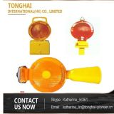 Luz que contellea amonestadora solar de los productos de la seguridad de tráfico de la barricada del camino