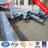 138kv Pólo tubular de aço galvanizado Octagonal