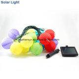 Indicatore luminoso solare della stringa con la lanterna
