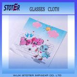 Aangepaste Sublimatie Afgedrukte Glazen Microfiber die Doek schoonmaken