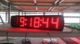"""5 de """" 6 semi-Openlucht LEIDENE van Cijfers Digitale Klok, steunt Regelmatige Klok en Functie Countdown/up"""