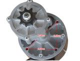 el engranaje de la C.C. de 350W 24 V aplicó el motor eléctrico del triciclo con brocha del motor del cepillo del motor
