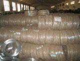 熱い浸された電流を通された鉄のワイヤーによって電流を通される鉄のらせんとじワイヤー