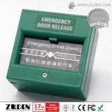 Sistema automático do controle de acesso da impressão digital da porta