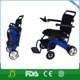 Disabled PeopleのためのアルミニウムFolding Electric Power Wheelchair