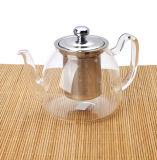 чайник боросиликатного стекла 260/600/1100ml для воды чирея