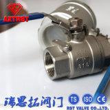 ISO/Ce volles zweiteiliges sich hin- und herbewegendes Portkugelventil