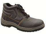 La punta de acero del mejor trabajador anuda los zapatos de seguridad del Ce