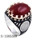 Nieuwe Juwelen 925 van de Aankomst de Echte Ring van de Manier voor de Mens