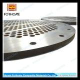 Piatto placcato dello strato di tubo del metallo in strumentazioni dello scambiatore di calore