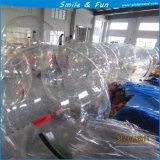Het Lopen van het water het Lassen van de Hete Lucht van de Bal TPU1.0mm D=2m Duitsland Tizip met Ce En14960