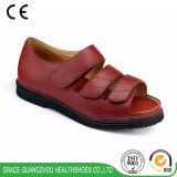 La salud de la tolerancia calza las sandalias diabéticas amarillentas de las mujeres (9812421-1)